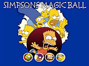 Simpsons Magic Ball